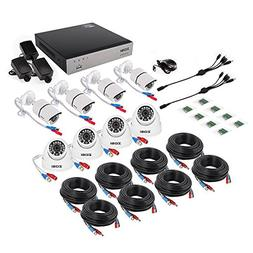 ZOSI 8 Channel Full 1080p HD-TVI Security Camera System,Surv
