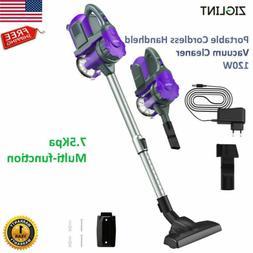 Ziglint 2 in 1 Cordless Handheld Vacuum Cleaner Stick Home C
