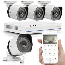 Zmodo 1080p 8CH HDMI NVR 8 IP Outdoor Surveillance Camera Po