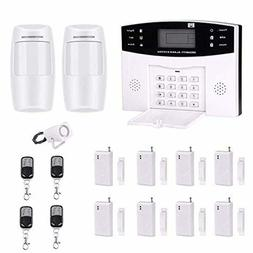 AG-security WirelessWired GSM SMS Home Burglar Security Fire