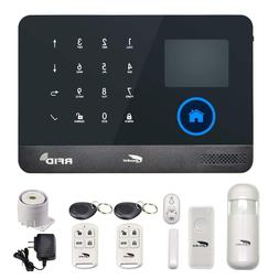 Hausbell Alarm Home Security System,3G & WiFi 2in1 Wireless