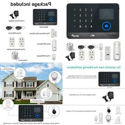 Hausbell Alarm Home Security System,3G  WiFi 2in1 Wireless S