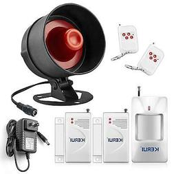 Alarm System Siren Security Remote Wireless Motion Sensor Do