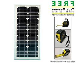 Apollo AP212 20 Watt Solar Panel & Mounting Bracket & Includ