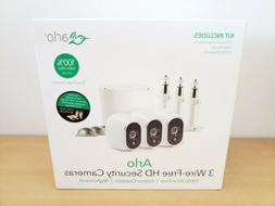 NEW Netgear Arlo Wire-Free Smart Security System with 3 Came