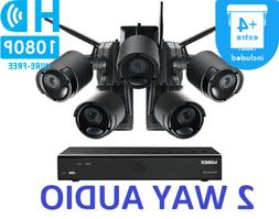 LOREX Audio Rechargeable Security Camera System 1TB 5 Wirele