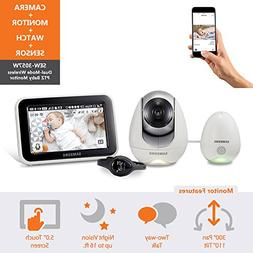 Samsung Wisenet SEW-3057WN BabyView Wi-Fi Remote Viewing  Ba