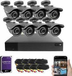 Best Vision 16CH 4-in-1 HD DVR CCTV Security Camera System ,