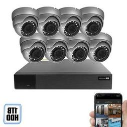 Best Vision 16CH 4-in-1 HD DVR Security Camera System 1TB HD
