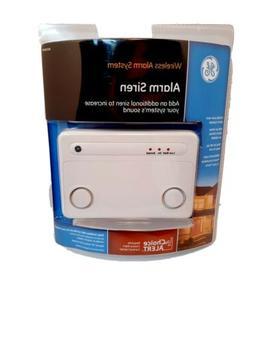 Brand New GE 45136 Wireless Alarm Siren System Choice Alert
