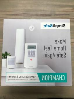Brand New SimpliSafe Champion Home Security System - 9 Piece