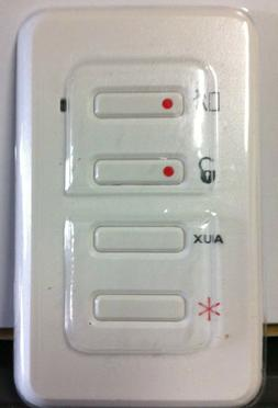 Brand New GE TX-3030-01-1 EV-F319W Wireless Wall Keypad, SIM