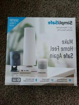 Brand New Simplisafe Wireless Home Security System 7 Piece S