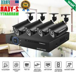CCTV Home Security System 4CH 1080N DVR Recorder+4*720P Came
