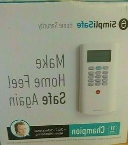 SimpliSafe Champion 11-Piece Home Security System NEW