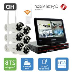 Crystal Vision CVT9608E-3010W All-in-One True HD Wireless S