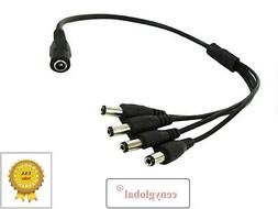 DC Power Cord Cable For ELEC New 8 Ch HDMI DVR CCTV Video Se