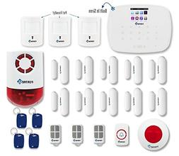 Fortress Security Store DIY Total Security Alarm System C Ki