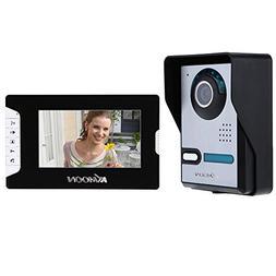 """KKmoon 7"""" Video Doorbell Video Door Phone TFT LCD Touch Scre"""