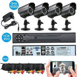 DVR Cctv-System Surveillance-Kit Video Outdoor-Security 4-IR