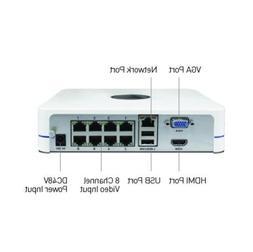 Swann Dvr Nvr CCTV 1080P 720P SWNVR-87085H Network NVR CCTV