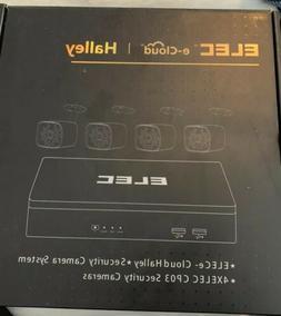 ELEC Halley Kit ELEC CCTV e-Cloud 4 Camera Security System 4