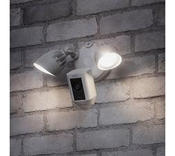 Ring Floodlight Security Camera Wide Angle HD Two-Way Talk