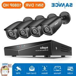 <font><b>SANNCE</b></font> 4CH 1080P CCTV <font><b>System</b