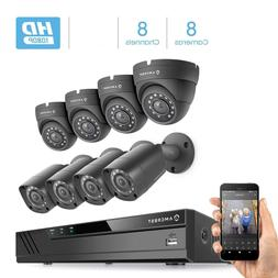 Amcrest 1080P 8CH Home Security Camera System Surveillance 4