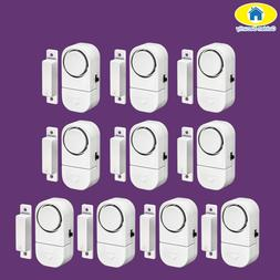 Golden <font><b>Security</b></font> 10Pcs 90dB Wireless Home