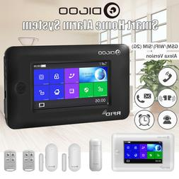 Digoo GSM&WiFi Touch Smart Home Security Burglar Alarm Syste