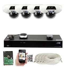 GW Security 8 Channel NVR 5 Megapixel H.265 Security Camera