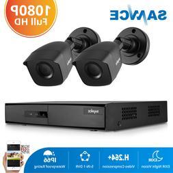 SANNCE H.264+ 1080P HDMI DVR Home 3000TVL CCTV Outdoor Secur