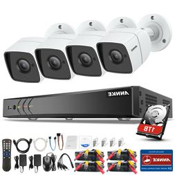 ANNKE H.265+ 5in1 4K 8CH DVR HD 5MP CCTV Security Camera Sys