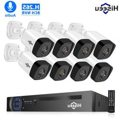 H.265 Audio 8CH 1080P POE NVR CCTV <font><b>Security</b></fo