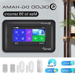 Digoo HAMA Touch Screen GSM +  WiFi Smart Home Burglar Secur