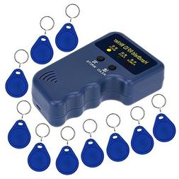 KKmoon Handheld 125KHz RFID ID Card Writer/Copier Duplicator