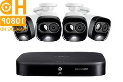 Lorex HD Security Camera System with 1080p Cameras 120ft Nig