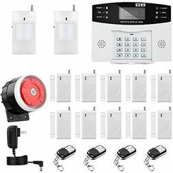 Thustar Home Alarm System Wirelss GSM Security Kit Remote Co