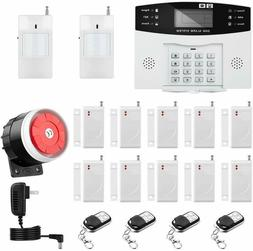 Thustar Home Alarm System Wirelss GSM Security System Kit Re