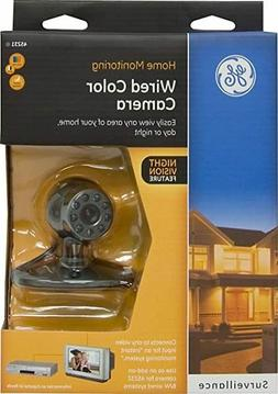 GE Home Monitoring Wired Color Security System Camera With N