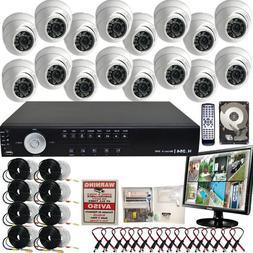 Evertech 16 Channel Home/office/store indoor/outdoor Surveil