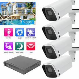 Home Security Camera System 4CH 1080P/2MP DVR Outdoor Camera