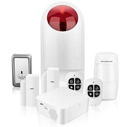 Home Security System WiFi Alarm System Kit for Home and Busi
