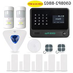 Home Security System,Golden Security touch screen keypad LCD