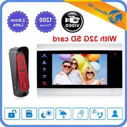 Home Video Door Phone Intercom Home <font><b>Doorbell</b></f