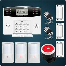 Home Wired GSM Security Burglar Alarm System Automatic Diali