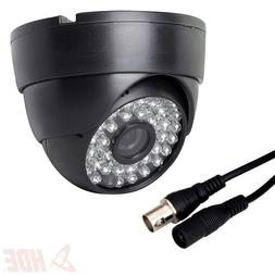 HDE Indoor Dome Security Camera 48 LED Night Vision Surveill