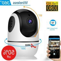IP Indoor Pan/Tilt 2 Way Audio Security Home Camera Wireless