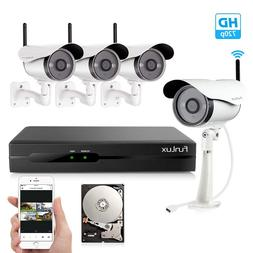Funlux® 720P IP Network Outdoor Wireless Camera Home Securi